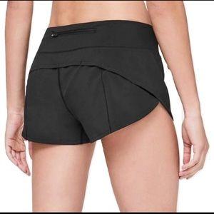 Black Speed Shorts